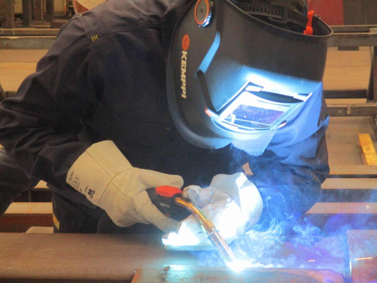 Assembling and Welding